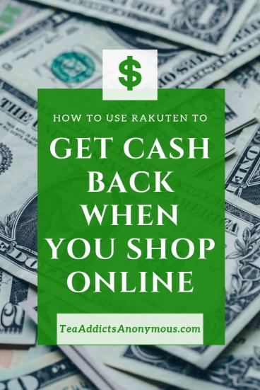 get cash back when you shop online